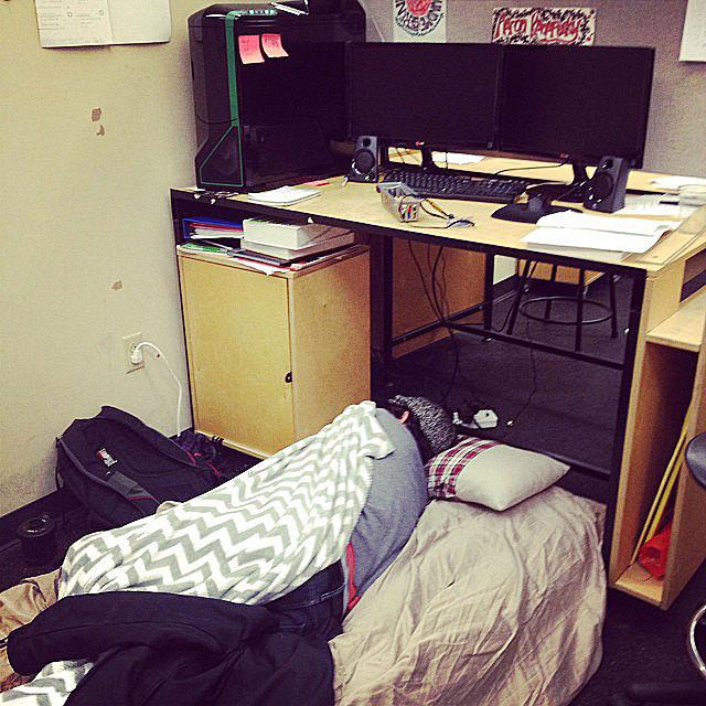 Kiến trúc sư ngủ như thế nào? Architect sleep