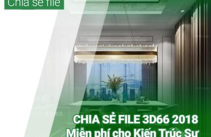 Download miễn phí bộ thư viện 3D66 2018 dành riêng cho Kiến Trúc Sư trên hệ thống KIENTRUC.com
