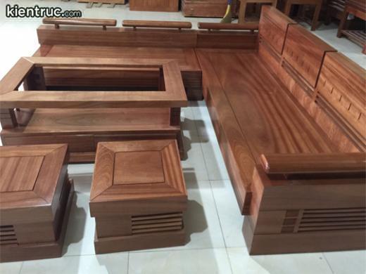 Bàn ghế gỗ hương vân