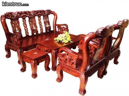 bàn ghế gỗ đồng kỵ