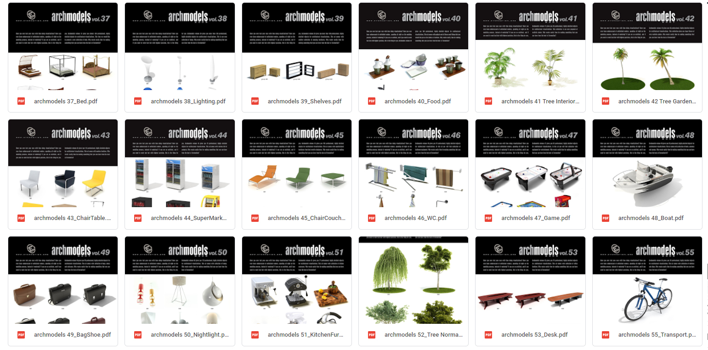 FREE Thư Viện 3D Archmodels